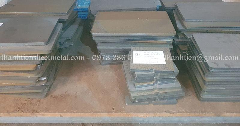 Sản xuất và cắt laser thép dày 6mm theo yêu cầu khách hàng