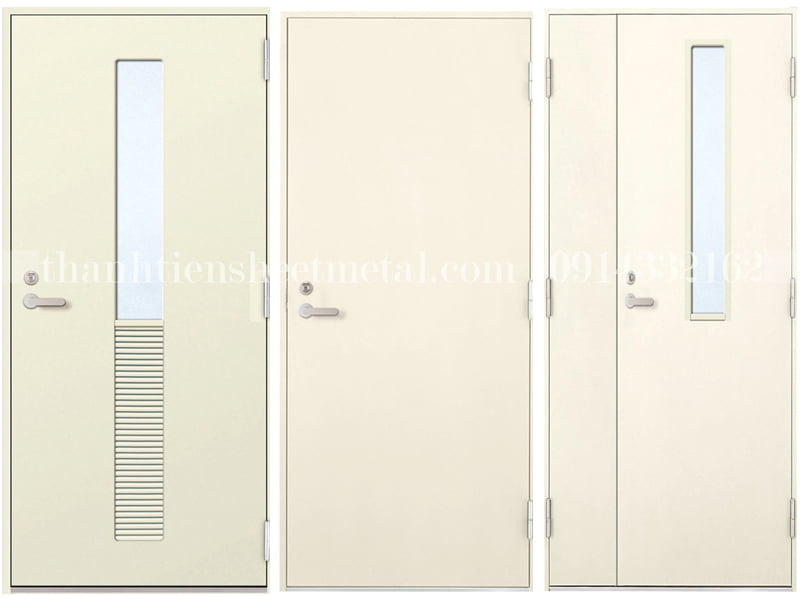 Những loại cửa thép chống cháy cao cấp hiện nay