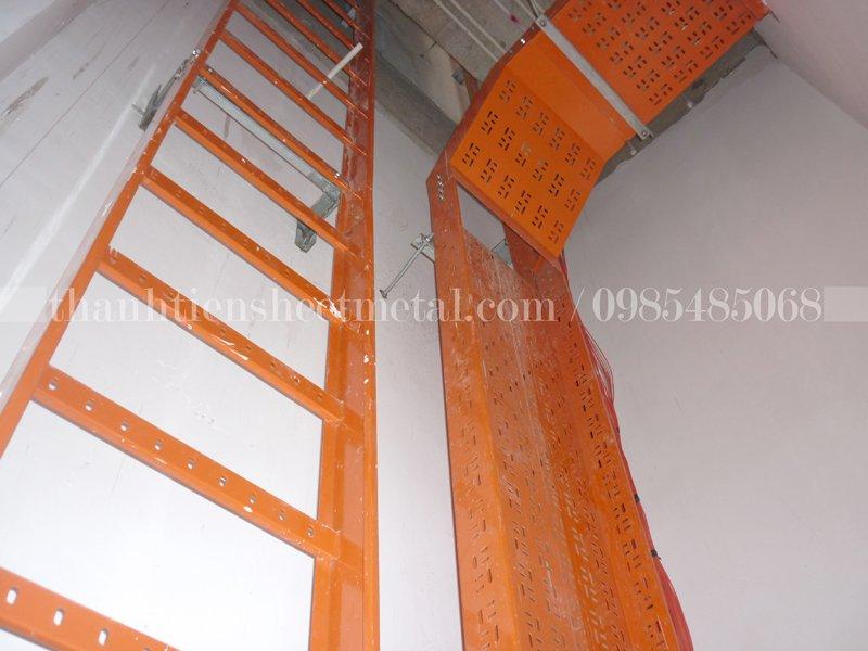 Hướng dẫn thi công lắp đặt thang máng cáp theo đúng tiêu chuẩn