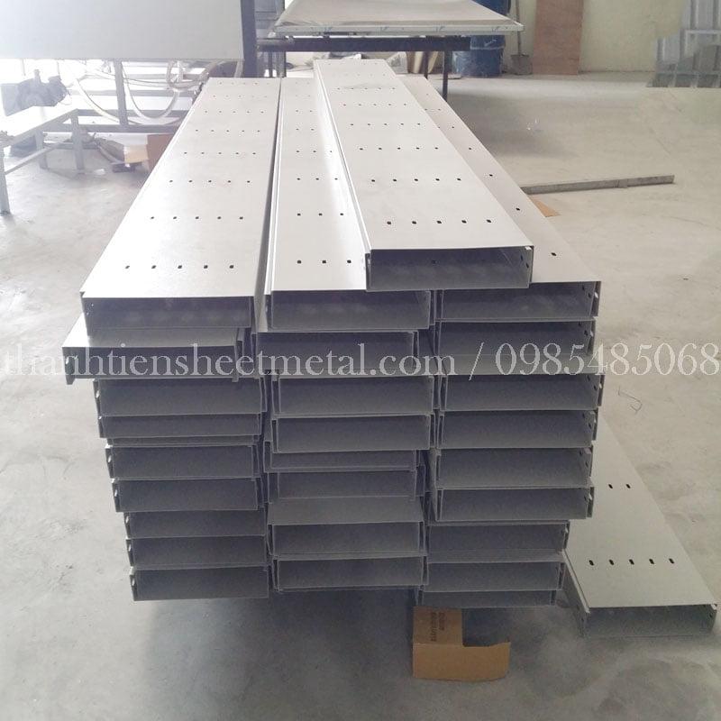 Quy trình sản xuất thang máng cáp điện tại Thành Tiến
