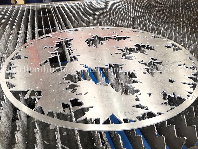 Cắt CNC Laser trang trí mĩ thuật theo yêu cầu