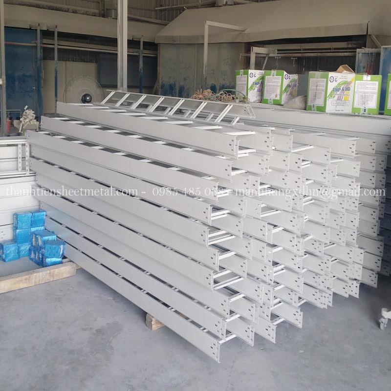 Sản xuất thang cáp sơn tĩnh điện giá rẻ Hà Nội theo yêu cầu