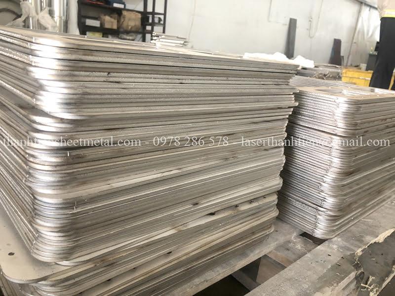 Gia công cắt Laser Inox 201 theo yêu cầu tại Hà Nội