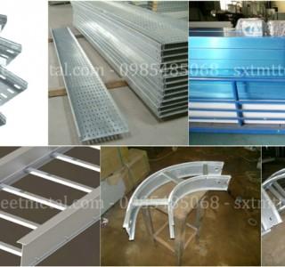 Sản xuất thang máng cáp nhôm chất lượng cao theo yêu cầu